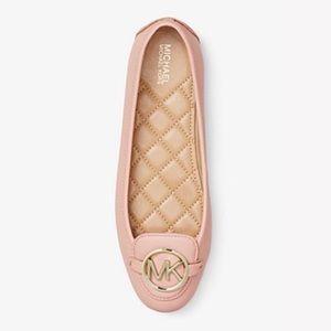 Michael Michael Kors Lillie Leather Moccasin